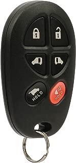 Key Fob Keyless Entry Remote fits 2004-2016 Toyota Sienna (GQ43VT20T 6-Btn)