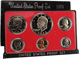 1973 S US Mint Proof Set Original Government Packaging