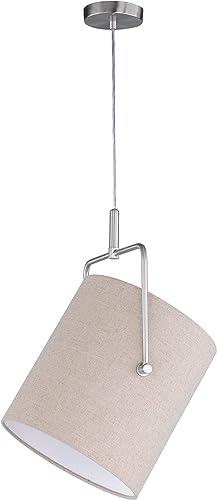 Honsel Lampe suspension Métal, Métal, matt nickel, E27 46 wattsW 230 voltsV