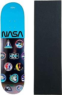 Habitat X NASA Skateboard Deck Mission Patch Logo Array 8.25