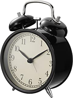 Ikea DEKAD Alarm Clock, Black 204.040.00