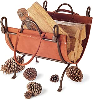Pilgrim Home and Hearth 18519 Folding Log Carrier