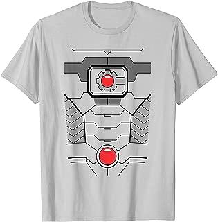 Justice League Cyborg Uniform T Shirt T-Shirt