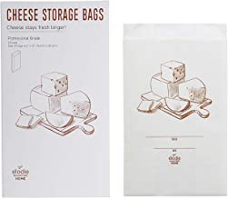 Elodie Essentials Home Cheese Storage Bags 25 Count