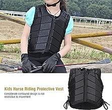 GOTOTOP Chaleco de protección Equitation antigolpes niños para equitación Ciclismo Motocross