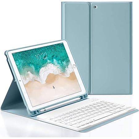 LOMQIT Funda Teclado para iPad Air 2019 3Rd Gen/iPad Pro 10.5