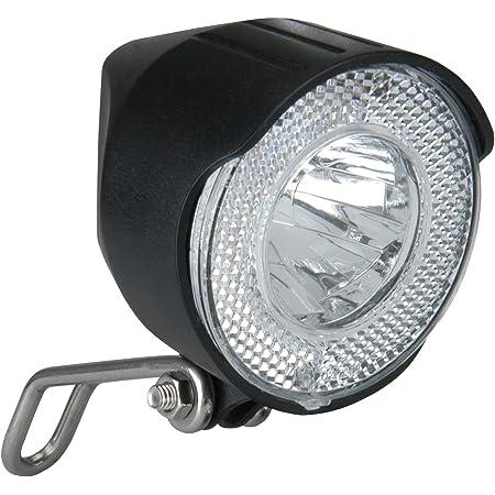 Fischer 45/Lux Dynamo LED della Luce del Faro Nero One Size