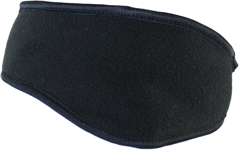 Ted and Jack - Runner's Staple Fleece Ear Wrap in Black