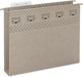 Smead TUFF Hanging Box Bottom Folder with Easy Slide Tab, 2