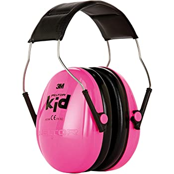 Casque antibruit 3M™ PELTOR™ Kid, Rose, référence H510AK-442-RE