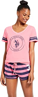 U.S. Polo Assn. Womens Short Sleeve Shirt and Pajama...