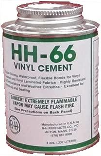HH-66 PVC Vinyl Cement Glue with Brush 8oz (1)