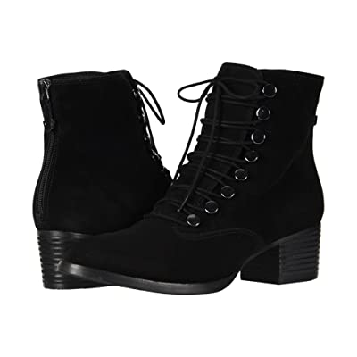 Earth Doral (Black Suede) Women