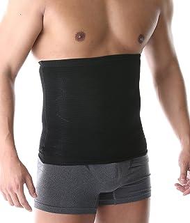 SPORTIA 加圧 ウエストサポーター 腹巻 お腹 引き締め ダイエット 男女兼用 グレー XL