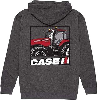 Sponsored Ad - Caseih Logo Stripe - Men`s Pullover Hood