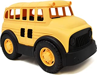 Number 1 in Gadgets Yellow School Bus Toy for Toddlers and Kids, Large Plastic Vehicle Truck for Car Action Playtime