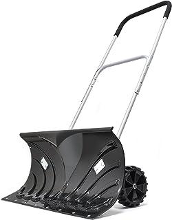 VERSOS 雪かきスコップ 押Snowさん 大関ブラック VS-GS01