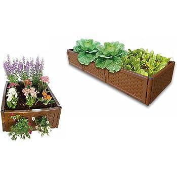 UPP® Multifunción Bancal flexible & ampliable/compostador/caja de ...