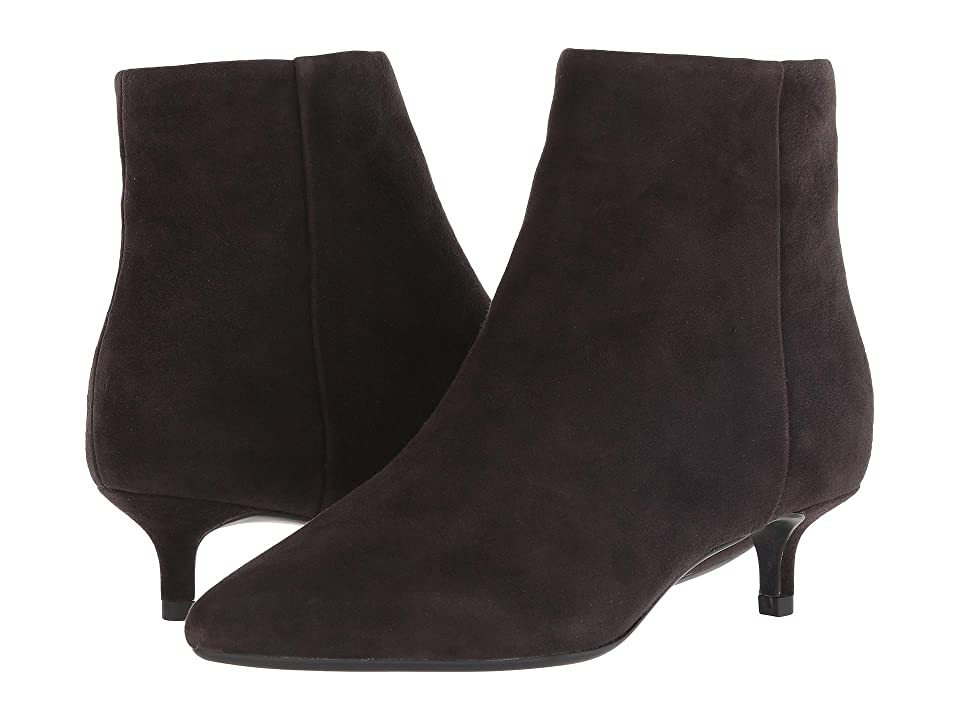 Taryn Rose Nora (Chocolate Suede) Women
