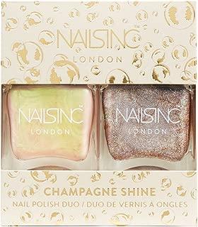Nails Inc Champagne Shine Nail Polish Duo