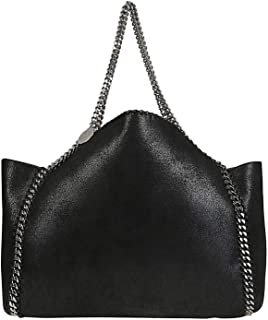 Luxury Fashion | Stella Mccartney Womens 507185W81871000 Black Tote | Season Permanent