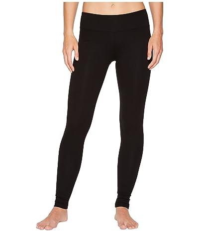 Lilla P Stretch Back Seam Leggings (Black) Women