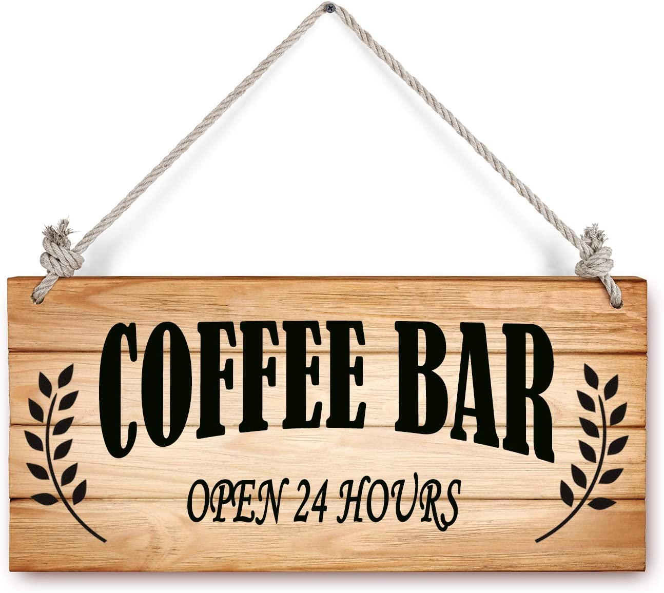 Rustic Wooden Reversible Sign Plaque Welcome We Are Open