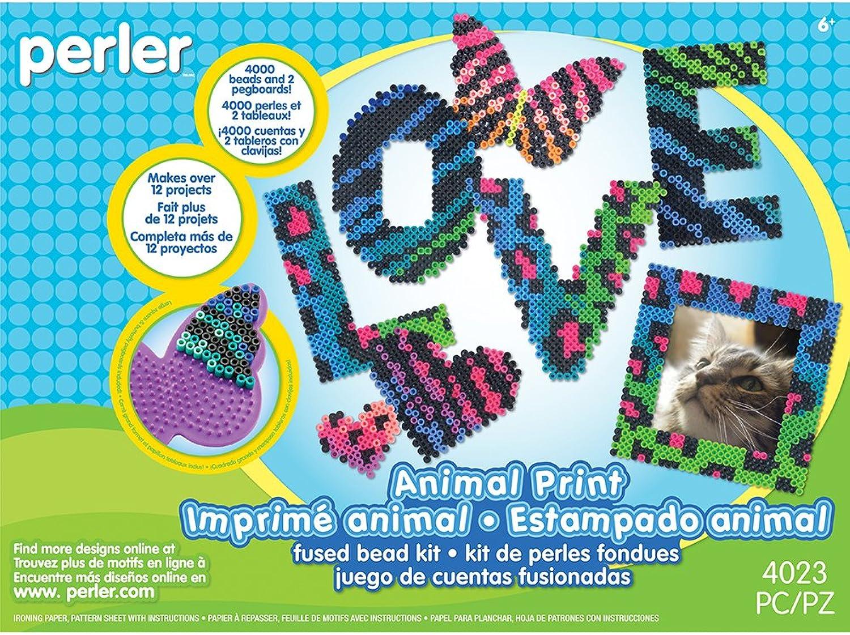 Perler 80–54189 Animal Print Deluxe Activity Kit B01JDAZAXE | Mama kaufte ein bequemes, Baby ist glücklich