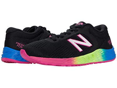 New Balance Kids Arishi v2 Bungee (Little Kid/Big Kid) (Black/Carnival) Girls Shoes