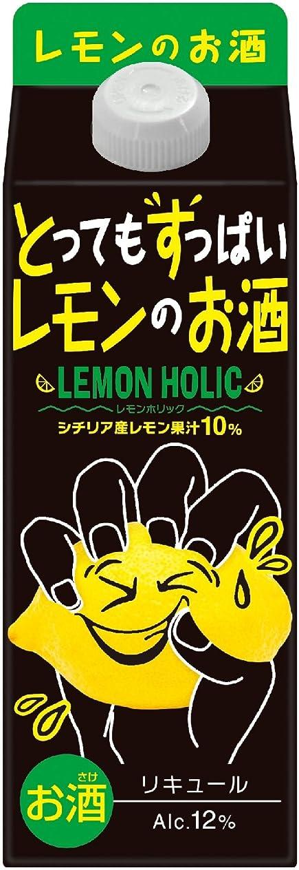 粒カイウスワット合同酒精 とってもすっぱいレモンのお酒-レモンホリック [ リキュール 500ml ]