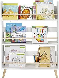 """Vertbaudet Bibliothèque """"Confetti"""" pour chambre d'enfant Blanc/naturel Taille unique"""