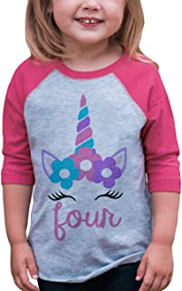 Best toddler girl 4th birthday shirt Reviews