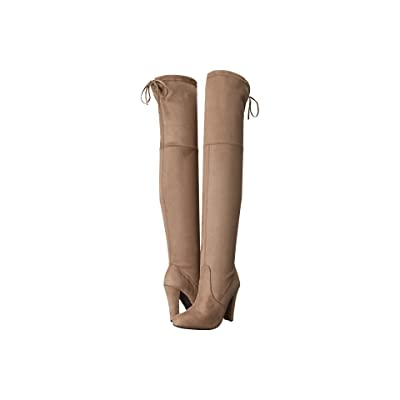 Steve Madden Gorgeous Knee Boot (Taupe) Women