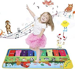 Weefun Musical Mat, Piano Play Keyboard Dance Floor Mat Carp