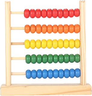 MAGIKON Miniature Counting Frame,5 Rows,Learning Mathematics Abacus