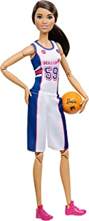 Barbie️ Made To Move ️ Basketball Player Doll Dvf68 - Fxp06