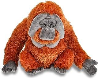 "Wild Republic Cuddlekins Plush Orangutan Male 12"""