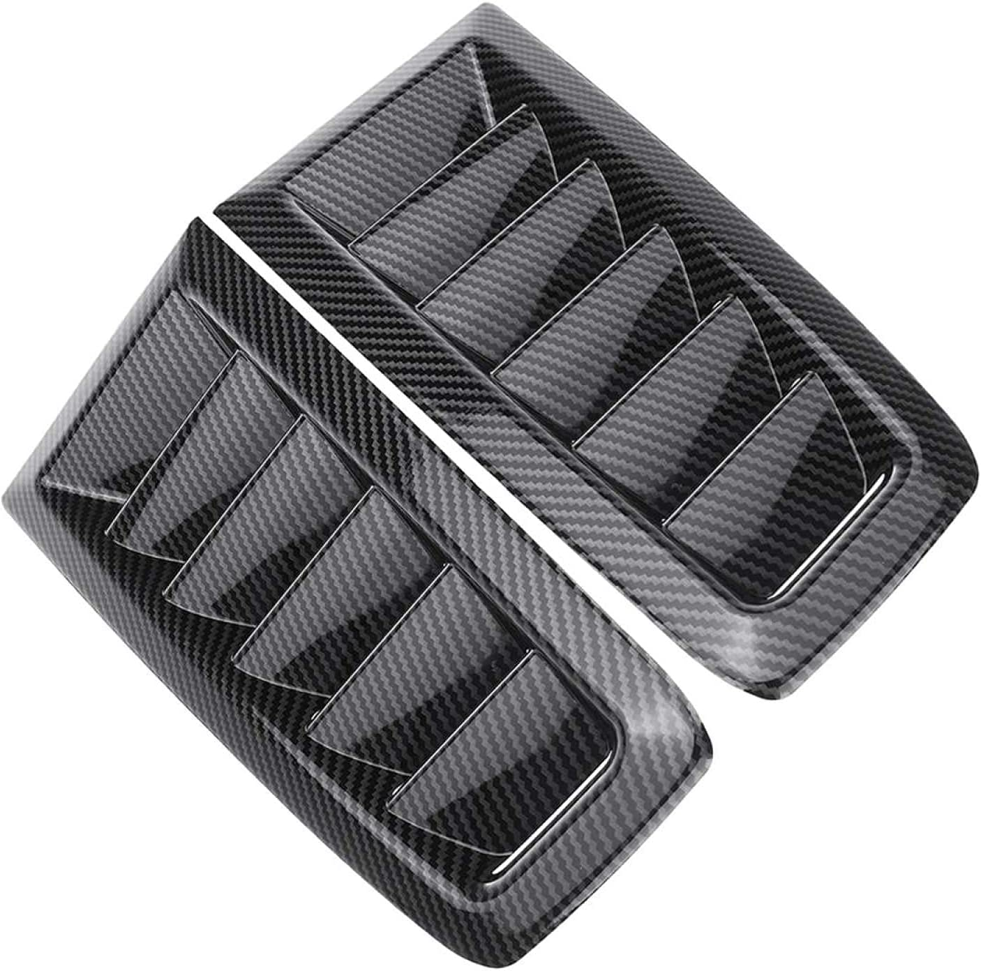 2X ABS Universal Car Front Bonnet Max 42% OFF low-pricing Focus Hood for Vents Ford