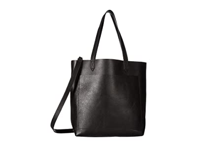 Madewell The Medium Transport Tote (True Black) Tote Handbags