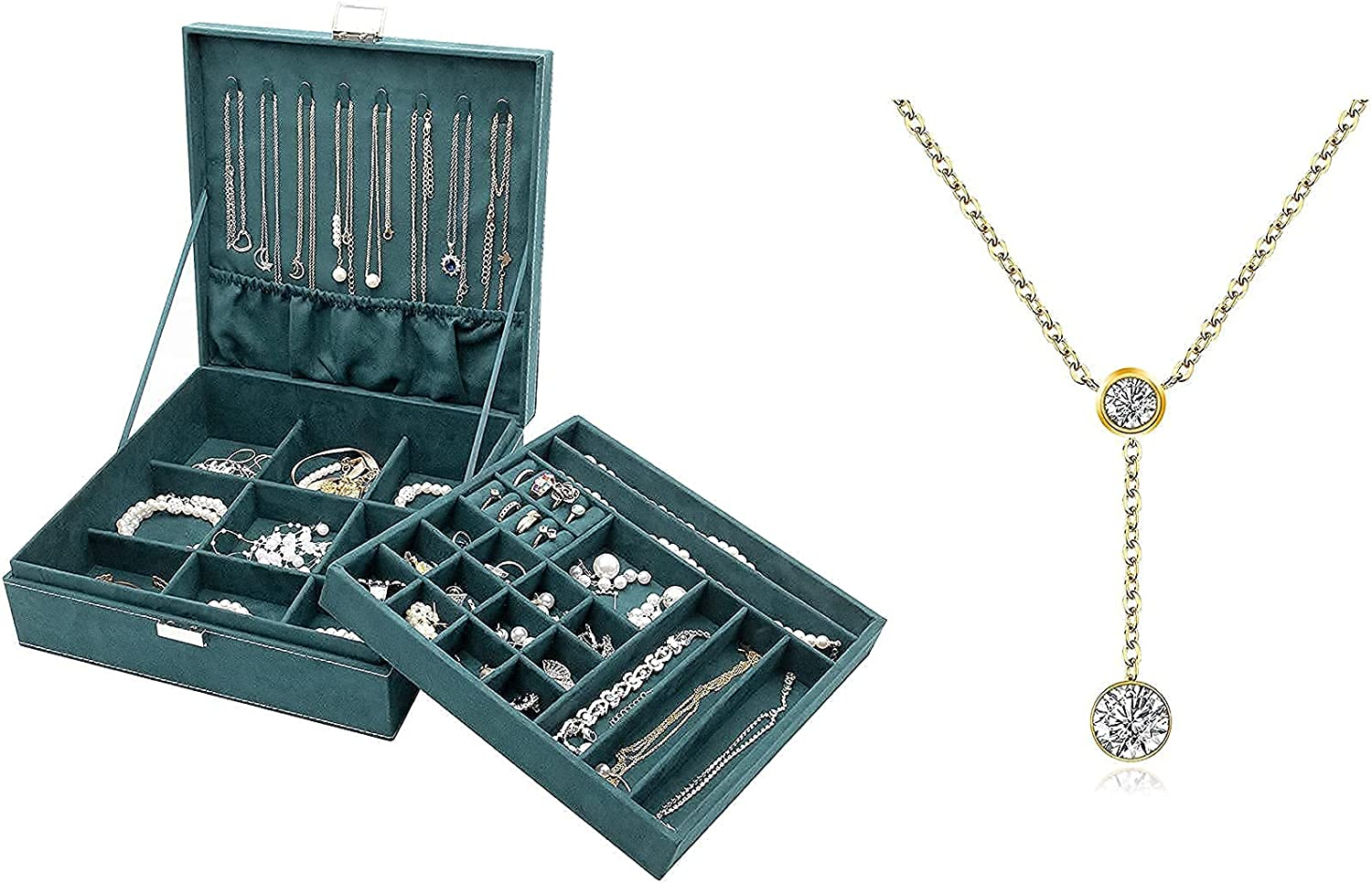 Some reservation ProCase Jewelry Box Organizer for Girls Choice Lolale Women Bundle with