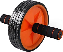 Ab Wheel Roller by Day 1 Fitness for Core Training, with Extra Traction and Easy Glide - Premium, Durable Exercise Wheel w...