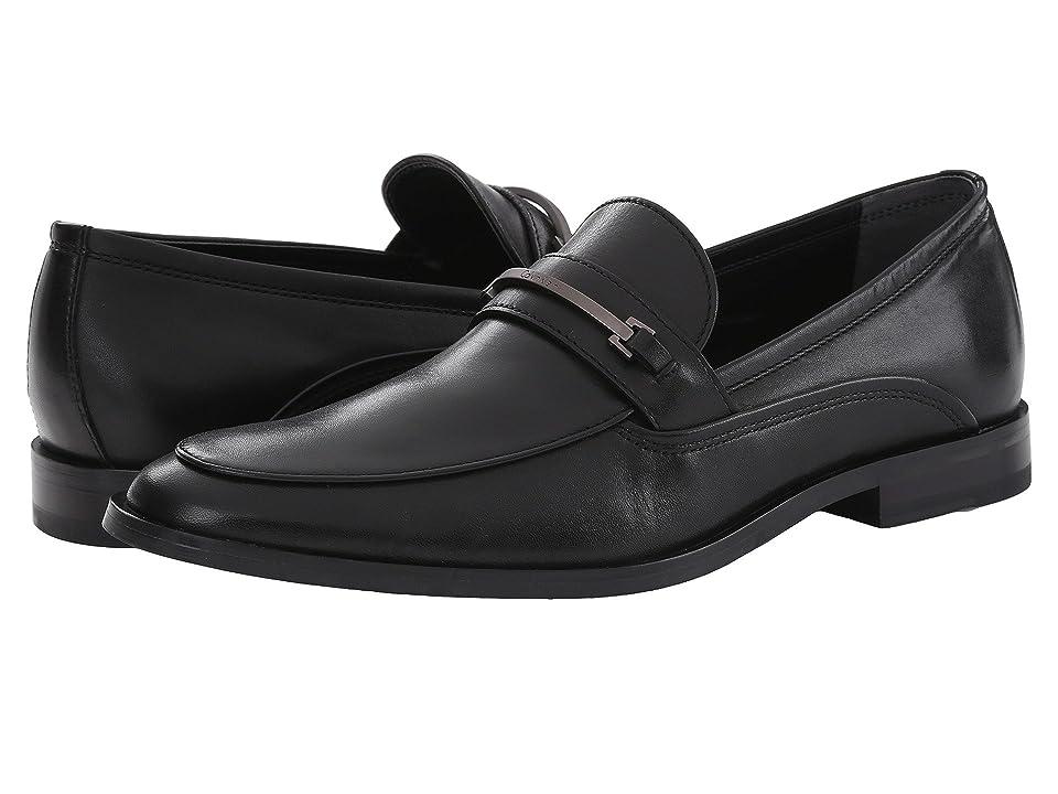 Calvin Klein Nordon (Black Leather) Men