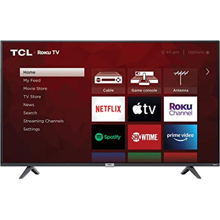 TCL 43-inch 4K UHD Smart LED TV - 43S435, 2021 Model