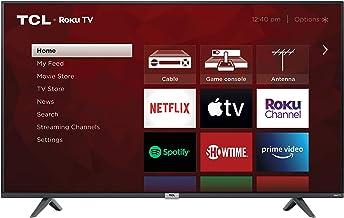 TCL 50-inch Class 4-Series 4K UHD Smart Roku LED TV – 50S435
