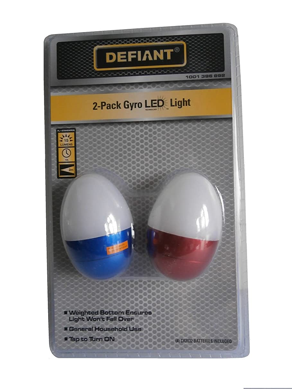 DEFIANT Mini LED Flashlights (Gyro LED Light (2-Pack))