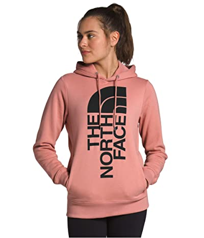 The North Face Trivert Pullover Hoodie (Pink Clay/TNF Black) Women