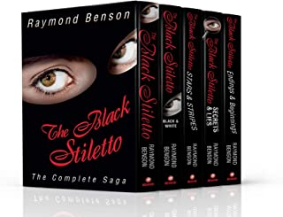 The Black Stiletto: The Complete Saga (The Black Stiletto Series, Books 1-5)