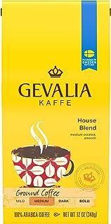 Gevalia House Blend Ground Coffee (12 oz Bags, Pack of 6)