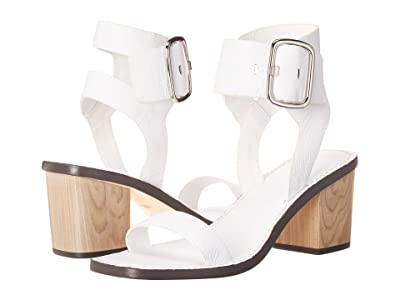 Sigerson Morrison Dalila (White Leather) Women