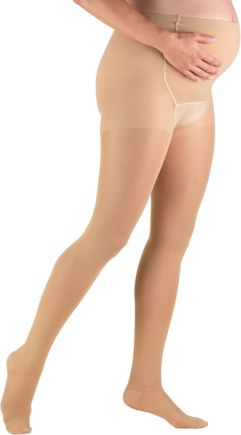 Truform Sheer Spring new work one after another Maternity Pantyhose mmHg 20-30 2021 new Tummy Compression
